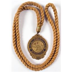 Native Sons of the Golden West Medal