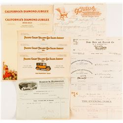 California Pictorial Letterheads
