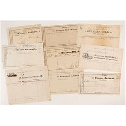 California Steamer Collection (1862-1903)