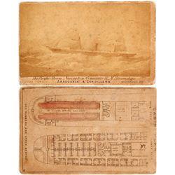 Early Pacific Steamship CDV