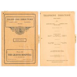 Colorado Telephone Directory 1932-33