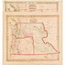 Maps of Early Oregon & Idaho