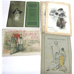 c.1890s Griswold, Browning & Co. Dress Catalogs, Chicago