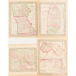 Maps of Maryland & Baltimore