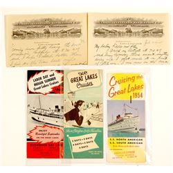 Great Lakes Ship & Navigation Documents, 1922-1954
