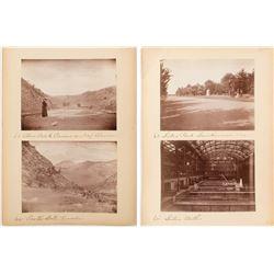Castle Gate, Nevada Rare Photograph and Three Bonus Photos