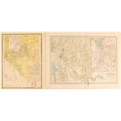 Maps of Nevada & Utah