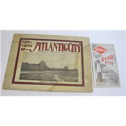 New Views of Atlantic City Booklet Plus Railroad Booklet