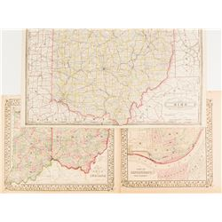 Maps of Ohio & Indiana