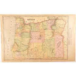 Cram Oregon Map