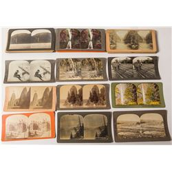 Large Oregon Stereoview Collection