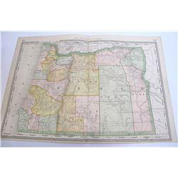 Rand McNally Oregon Map