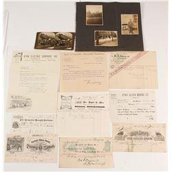 Salt Lake City, Utah Billheads & Ephemera (1874-1963)