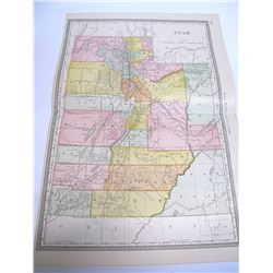 Rand McNally Utah Map