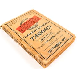 Tacoma, Washington 1916 Telephone Directory