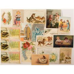 Washington and Oregon Trade Cards