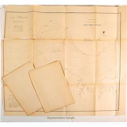 Maps of Washington & Oregon