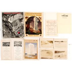 Yellowstone Guides, Photos & Ephemera
