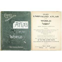 Cram's Unrivaled Atlas of the World 1911