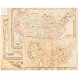 Four Early Maps of North America