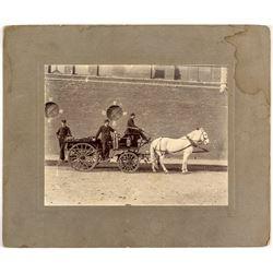 Horse Drawn Fire Wagon Photograph
