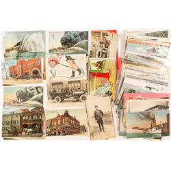 Fire Fighting Postcard Collection 2