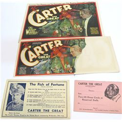 Carter The Great Promo Items