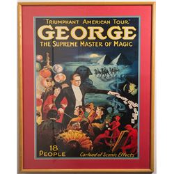 George, Supreme Master of Magic Poster