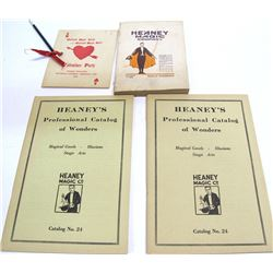 Four Magic Catalogs