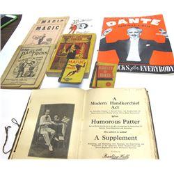 Nine Magic Trick Catalogs