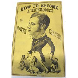 How To Become a Ventriiloquist by Kennedy (1882)