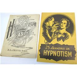 Early Hypnotism Books