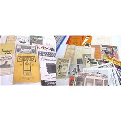 25 Assorted Catalogs and Brochures