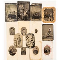 Collection of 13 Tin Types