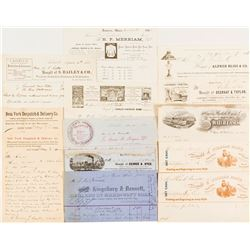Collection of US Letterheads, Many Pictorials