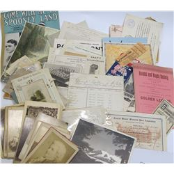 Huge Grab Bag of Assorted Ephemera