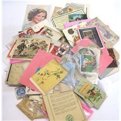 Large Tradecard and Ephemera Collection