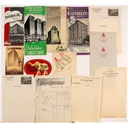 US Hotel Letterheads and Brochures