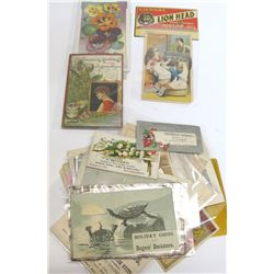 Approx 40 Misc. Trade Cards