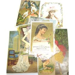Coffee & Tea Trade Cards