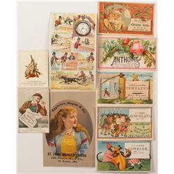 Jeweler's Trade Cards