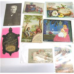 Music Related Trade Cards
