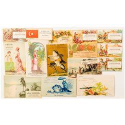 Photographer and Printer Trade Cards