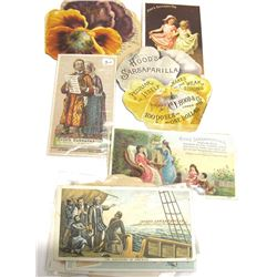 Sarsaparilla Trade Cards