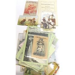 Sewing and Sewing Machine Trade Card Assortment