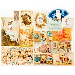 Tobacco Trade Cards
