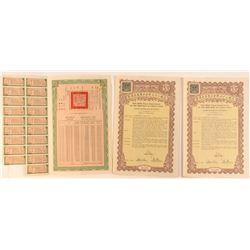Republic of China Gold Loan U.S. Bonds