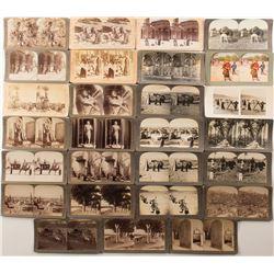 Cairo Area Stereoviews, c 1896-1904