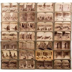 Egyptian Ruins of Thebes Stereoviews