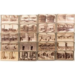 Egyptian Temples Stereoviews, c1896-1904